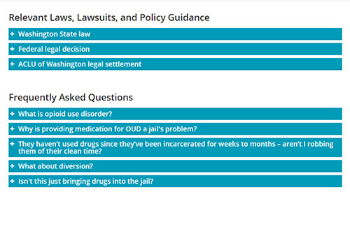 Read about relevant laws and find and FAQs.
